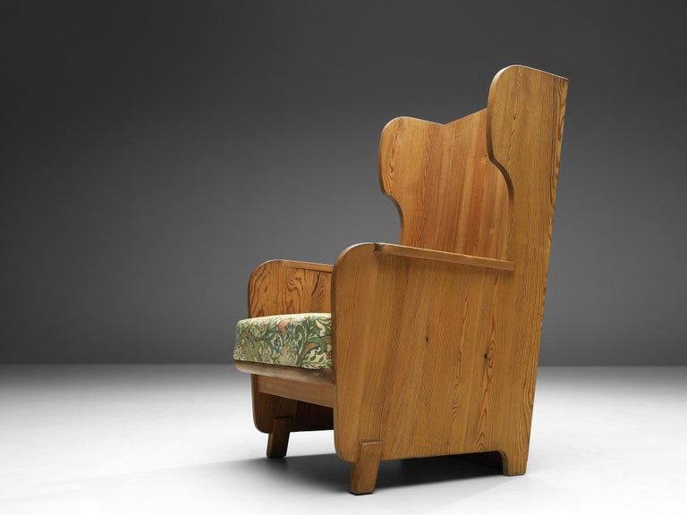 Axel Einar Hjorth 'Lovo' Chair in Pine For Sale 3