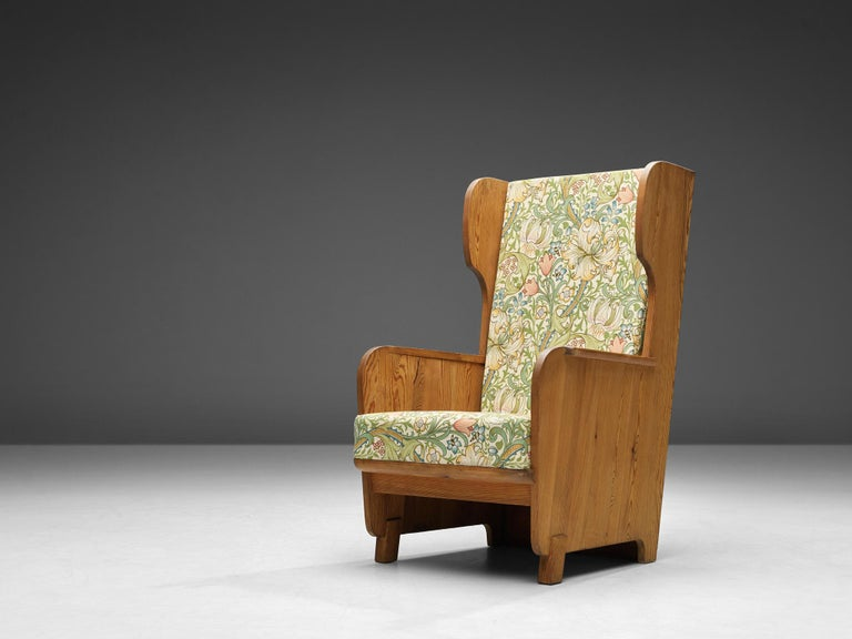 Axel Einar Hjorth 'Lovo' Chair in Pine In Good Condition For Sale In Waalwijk, NL