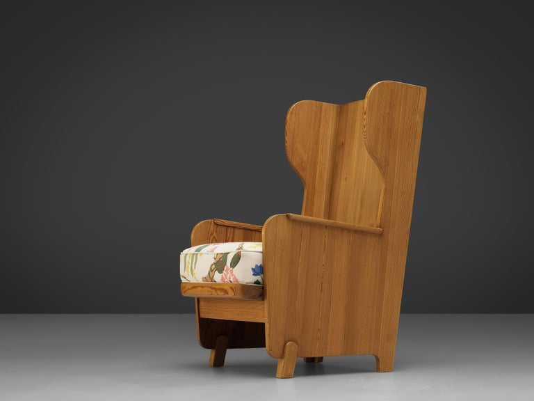 Mid-20th Century Axel Einar Hjorth 'Lovo' Chair in Pine For Sale