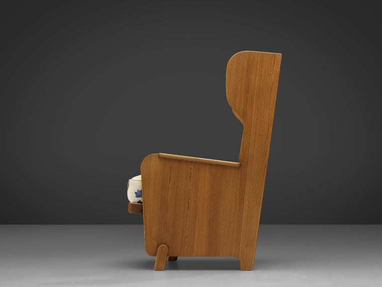 Axel Einar Hjorth 'Lovo' Chair in Pine For Sale 1