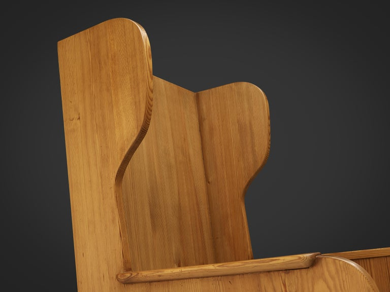 Axel Einar Hjorth 'Lovo' Chair in Pine For Sale 2