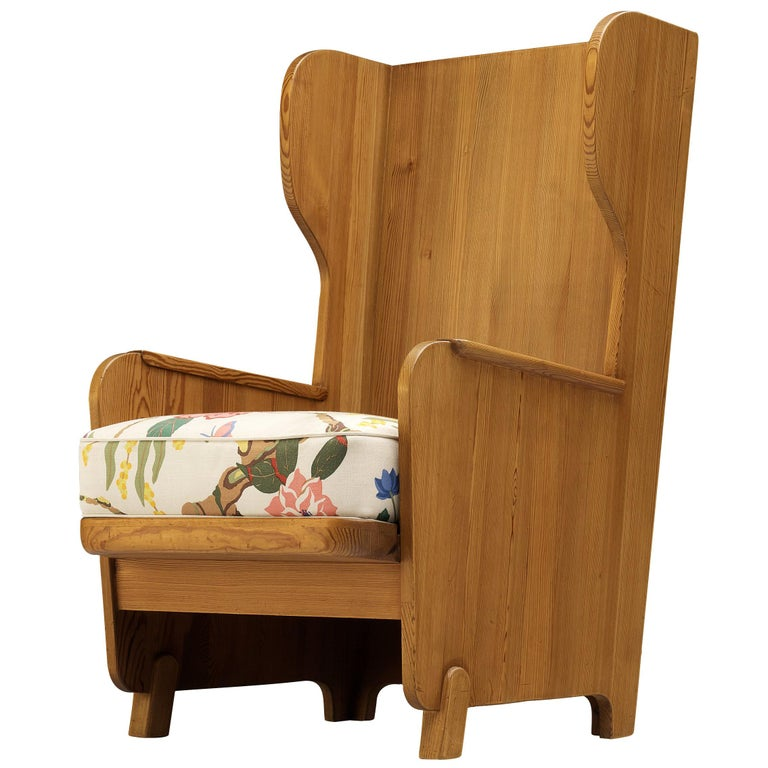 Axel Einar Hjorth 'Lovo' Chair in Pine For Sale