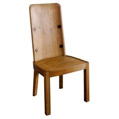 "Axel Einar Hjorth ""Lovö"" Pine Chair Produced by Nordiska Kompaniet, Sweden 1930s"