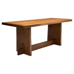 "Axel Einar Hjorth ""Lovö"" Pine Table for Nordiska Kompaniet, Sweden, 1930s"