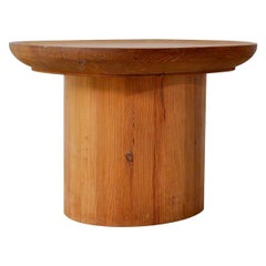 Axel Einar Hjorth Pine 'Uto' Table for Nordiska Kompaniet, Sweden, 1930