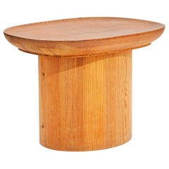 Axel Einar Hjorth Pine 'Uto' Table for Nordiska Kompaniet, Sweden, 1930s