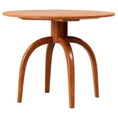 Axel Einar Hjorth Round Coffee Table for Nordiska Kompaniet, Sweden, 1937