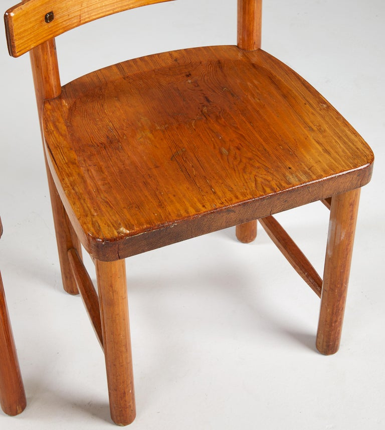 Axel Einar Hjorth, Sandhamn Chairs, 1929 In Good Condition For Sale In , DE