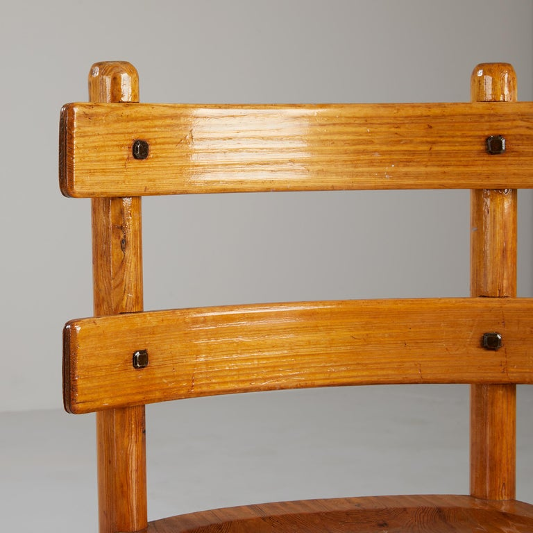 Early 20th Century Axel Einar Hjorth, Sandhamn Chairs, 1929 For Sale