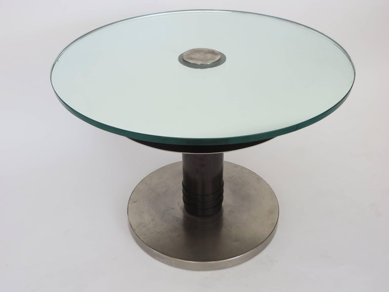 Axel Einar Hjorth rare occasional table Typenko from 1931.