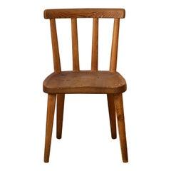 "Axel Einar Hjorth, ""Utö"" Side Chair, Solid Pine NK, Sweden, 1930s"