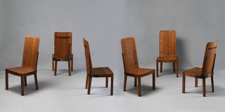 Scandinavian Modern Axel Einar Hjorth Set of Six