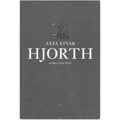 """""""AXEL EINER HJORTH"""" Mobelarkitekt, 'Book'"""