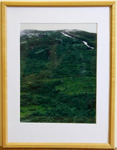 """Axel Hütte """"Furka"""" Color photography. Print. 1997. 13/100 signed dated numbered"""