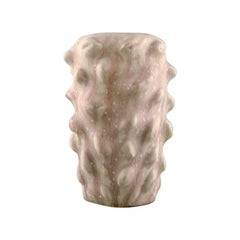 Axel Salto for Royal Copenhagen, Early Vase in Budding Style, 1940s