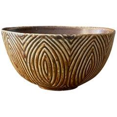 Axel Salto, Small Decorative Bowl, Stoneware, Royal Copenhagen, Denmark, 1950s