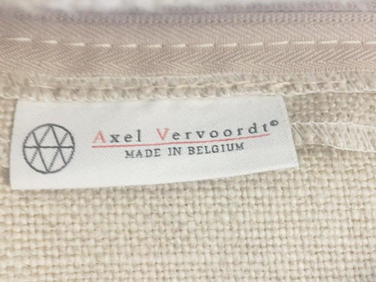 Axel Vervoordt Custom Sofa in Belgian Linen 8