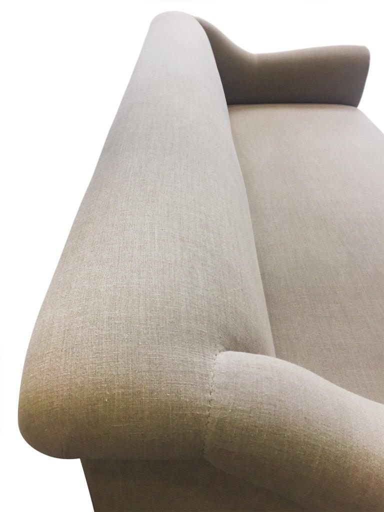 Contemporary Axel Vervoordt Custom Sofa in Belgian Linen