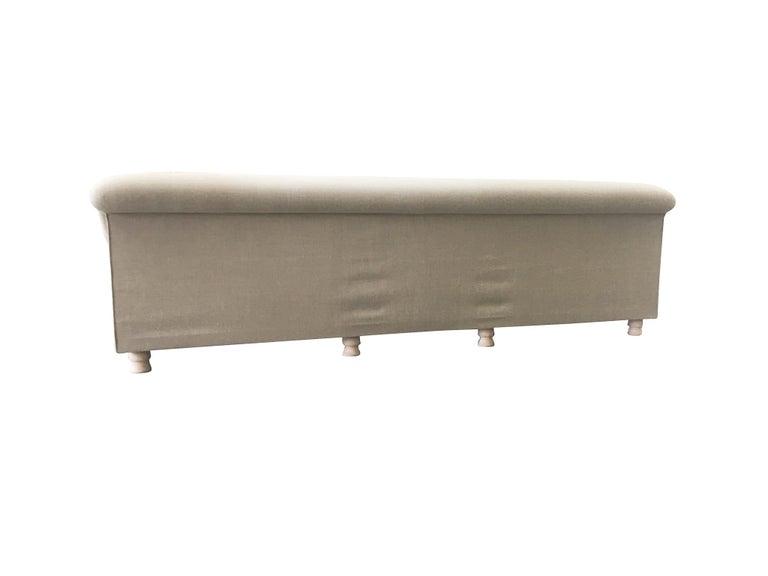 Axel Vervoordt Custom Sofa in Belgian Linen 4
