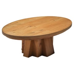 Axel Vervoordt Style Coffee Table, Rustic, 1900's, Craftsman Touch, Minimalist