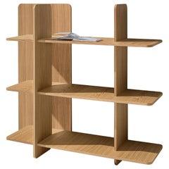 Axis Modular Bookcase in Oak by Studio Klass