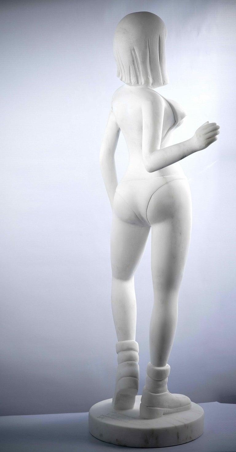 yumi2,  serie of 5 lovedolls - Contemporary Sculpture by AYA TOSHIKAWA
