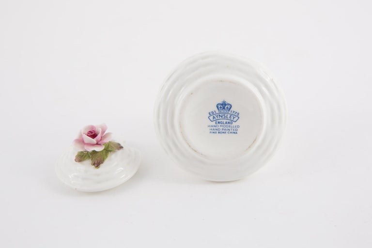 Women's or Men's Aynsley Porcelain Pot For Sale