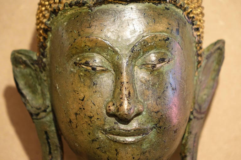 Other Ayutthaya Style Standing Bronze Figure of Buddha, Mid-17th Century, Thailand For Sale