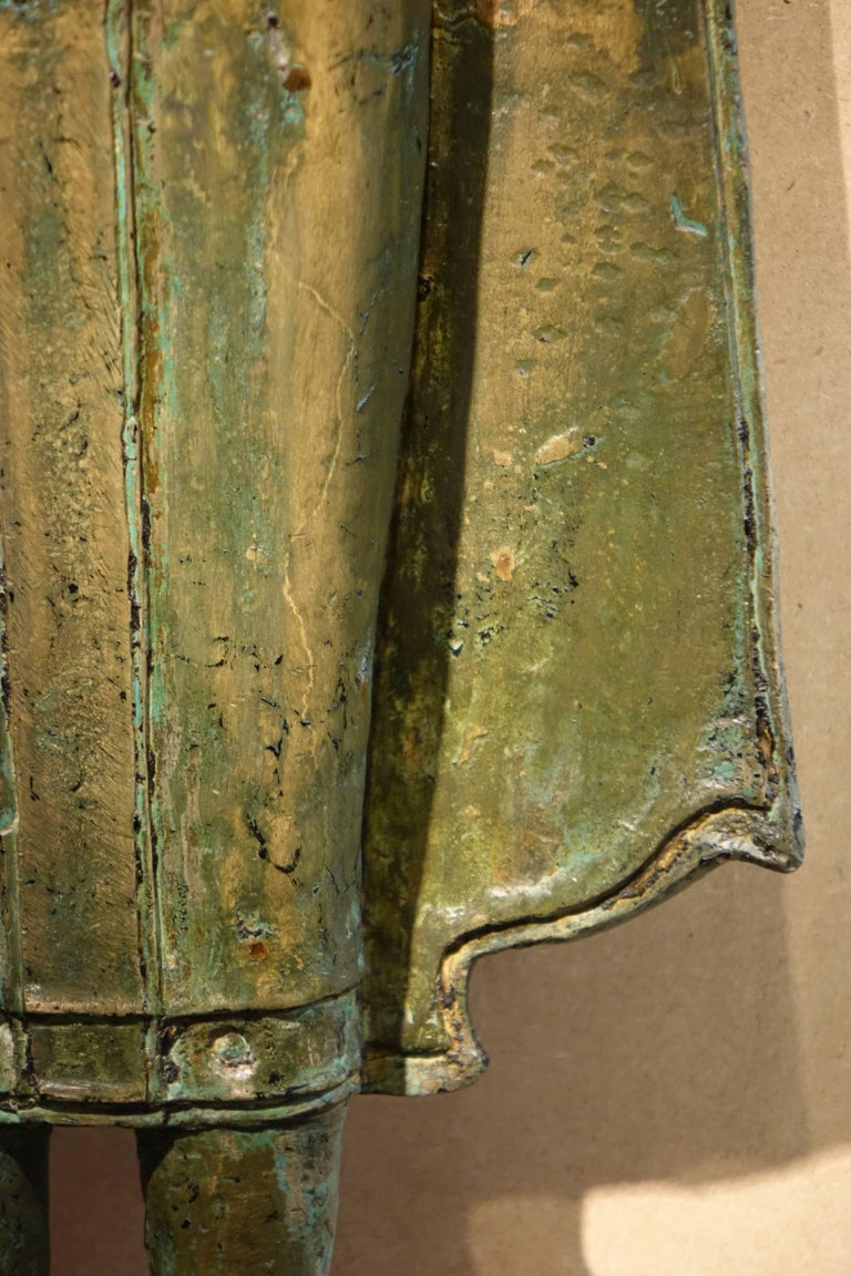 Ayutthaya Style Standing Bronze Figure of Buddha, Mid-17th Century, Thailand For Sale 2