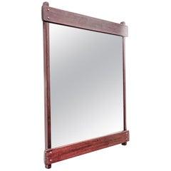 Azen Mirror in Jacarandá Rosewood, by Sergio Rodrigues, Mid-Century Modern