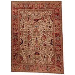 Turkish Heriz Serapi Style Wool Rug