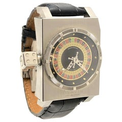 Azimuth SP 1 Roulette Stainless Steel Automatic Wristwatch