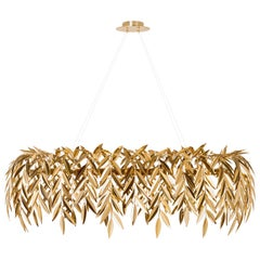 Azores Chandelier, Gold Brass, InsidherLand by Joana Santos Barbosa