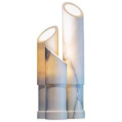 Azoth Lamp Marble by Michel Amar