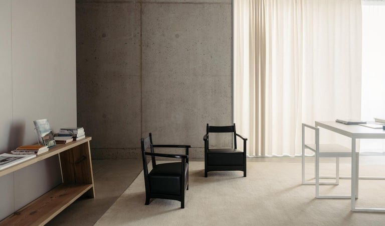 Modern Azucena Chinotto High Small Armchair by Luigi Caccia Dominioni For Sale