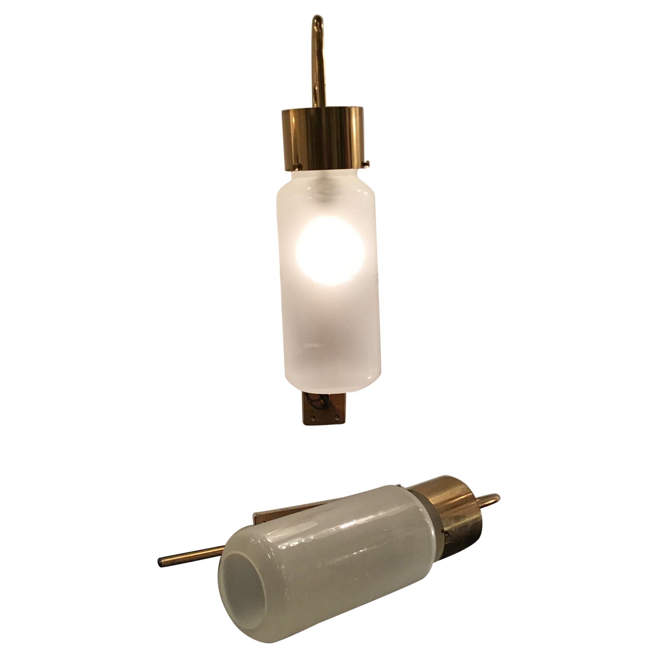 Azucena LP10 Luigi Caccia Dominioni Brass Glass, 1958, Italy
