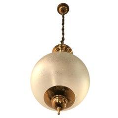 Azucena Luigi Caccia Dominioni Brass Glass, 1950, Italy