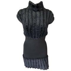 Azzedine Alaia 1994 Vintage Chenille Dress