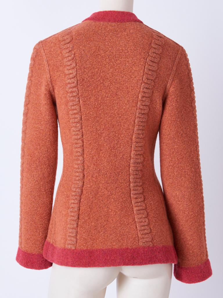 Azzedine Alaia Fitted Cardigan In Good Condition For Sale In New York, NY