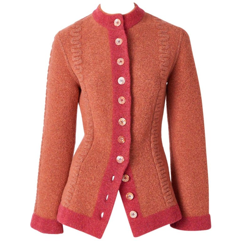 Azzedine Alaia Fitted Cardigan For Sale