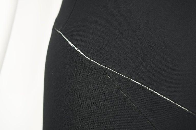 Women's Azzedine Alaia Black Sleeveless Gown For Sale