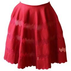 Azzedine Alaïa Knitted Mini Skirt