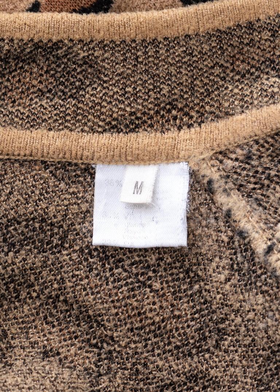 Azzedine Alaia leopard print knit figure hugging sweater dress, fw 1991  For Sale 5