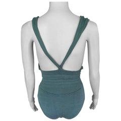 Azzedine Alaia Vintage Open Back Bodysuit