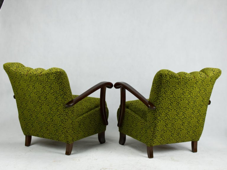 Czech B-970 Lounge Chairs by Thonet, 1920s