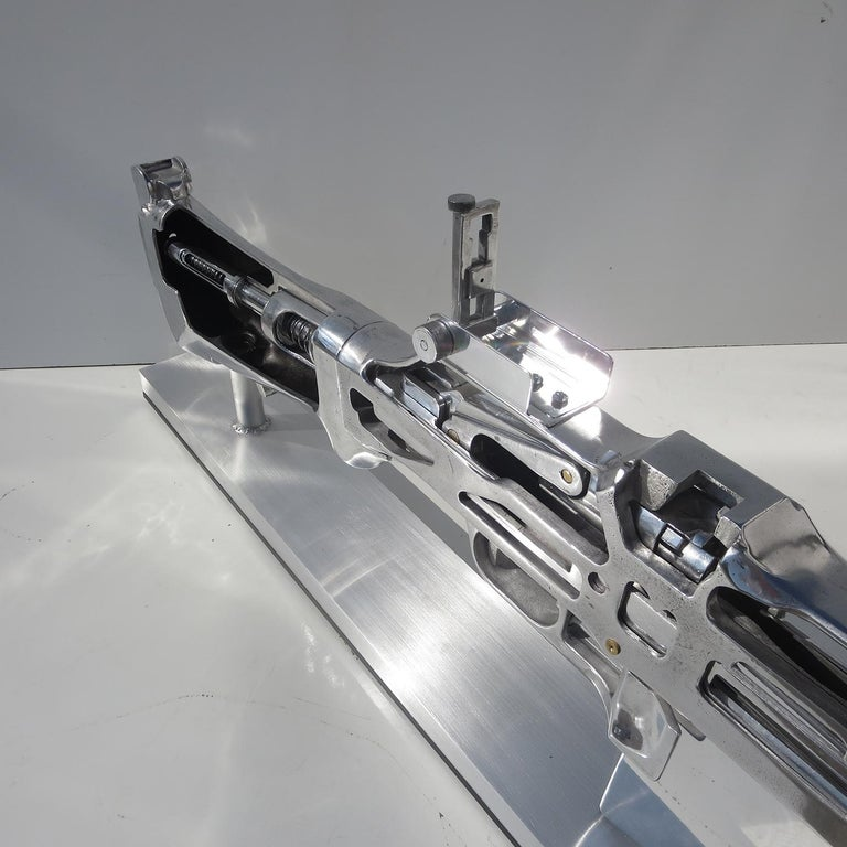 Mid-20th Century B. A. R. Rifle Display Oversized Training Gun Model For Sale