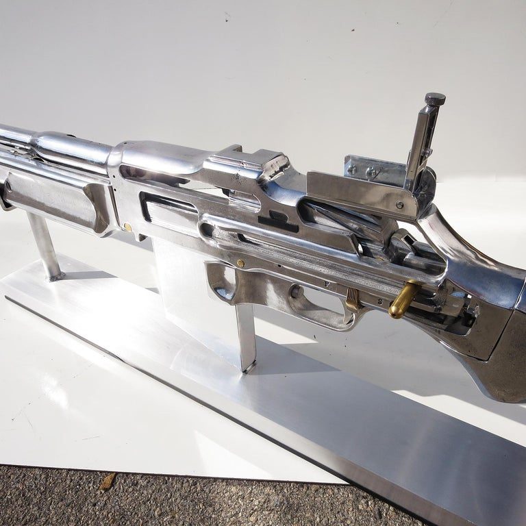 Aluminum B. A. R. Rifle Display Oversized Training Gun Model For Sale