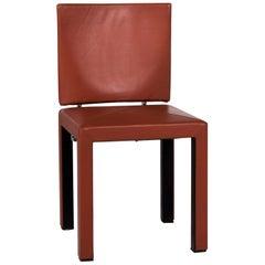 B & B Italia Arcara Leather Armchair Brown Chair
