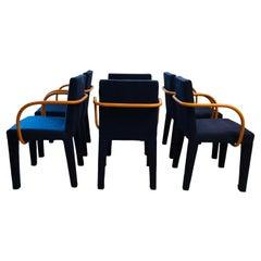 B & B Italia Post-Modern Dining Chairs