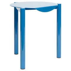 B Series Stool / Side Table, Contemporary, Minimal, Powder-Coated Steel Metal